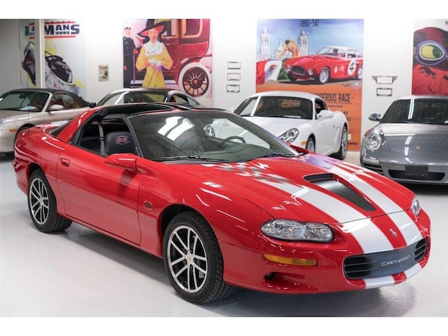2002 Chevrolet Camaro Z28, SS, SLP, 345 HP, 1SB, T-Roofs Coupe