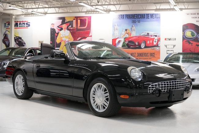 2002 Ford Thunderbird Hardtop and power softop Convertible