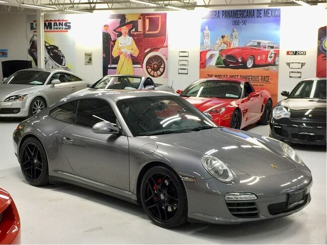 2009 Porsche 911 Carrera 4S, GT2 Seats, Nav, Bluetooth Coupe