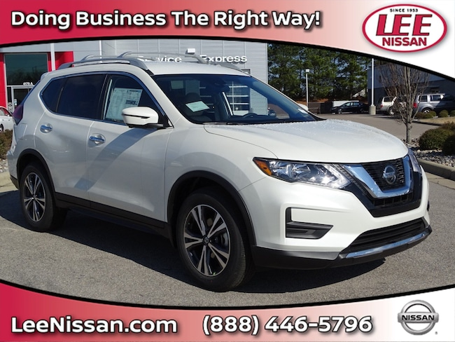 New 2019 Nissan Rogue SV FWD SV in Wilson, NC