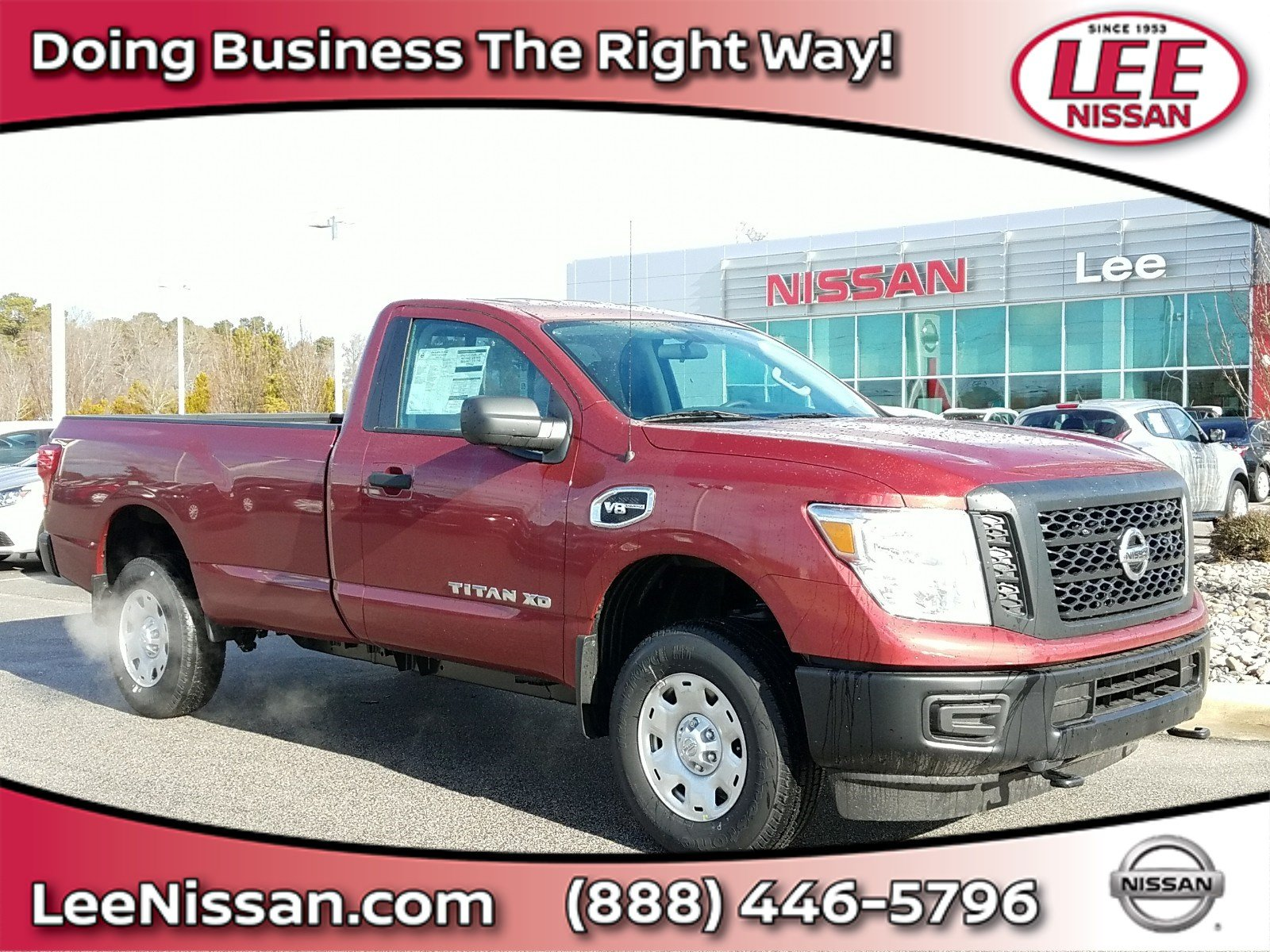 2018 Nissan Titan XD S 4x4 Gas Single Cab S for sale in Wilson, NC.
