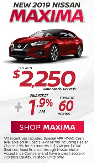 2019 Nissan Maxima Special