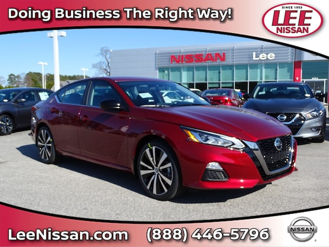 New 2019 Nissan Altima 2.5 SR Sedan in Wilson, NC