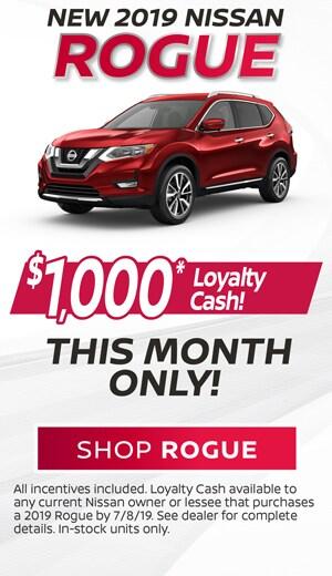 2019 Nissan Rogue Loyalty