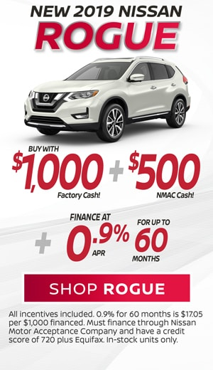New 2019 Rogue Buy Special