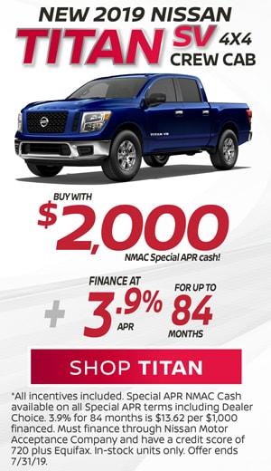 New 2019 Nissan Titan