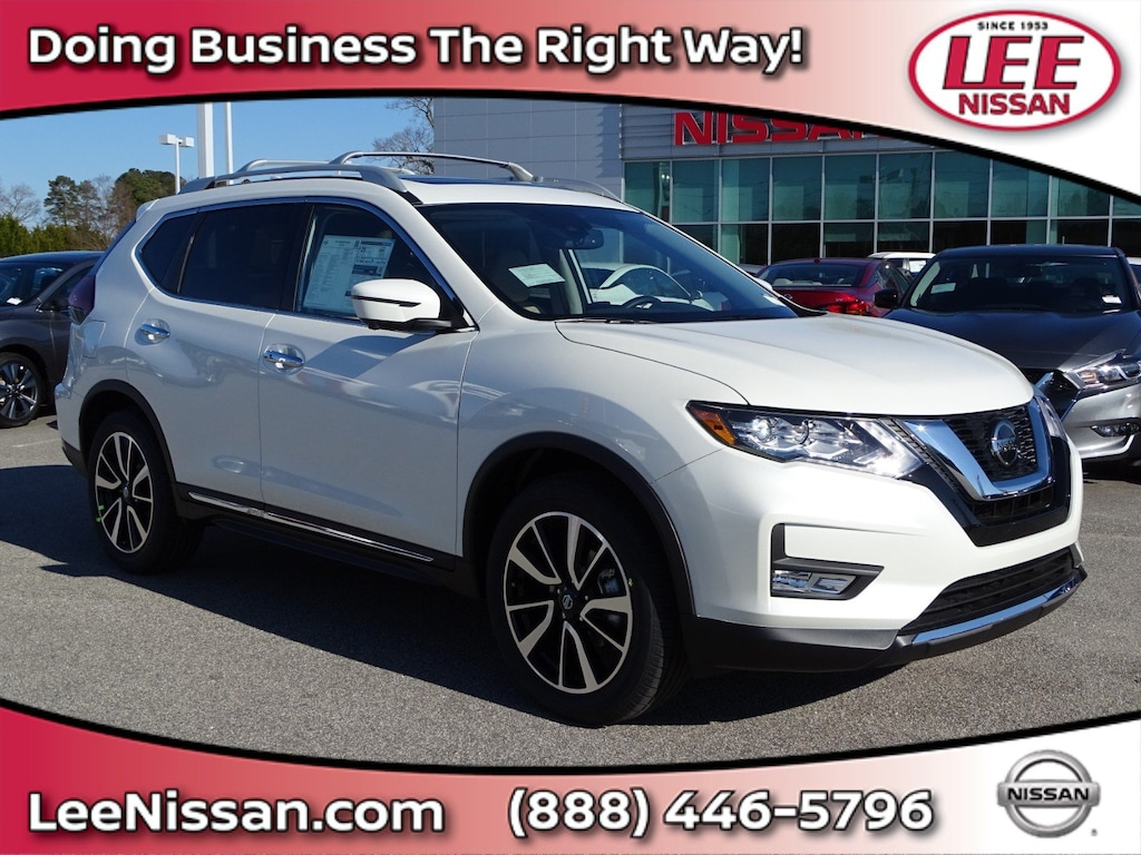 Nissan Greenville Nc >> New 2019 Nissan Rogue Sl For Sale In Wilson Nc Near Rocky Mount