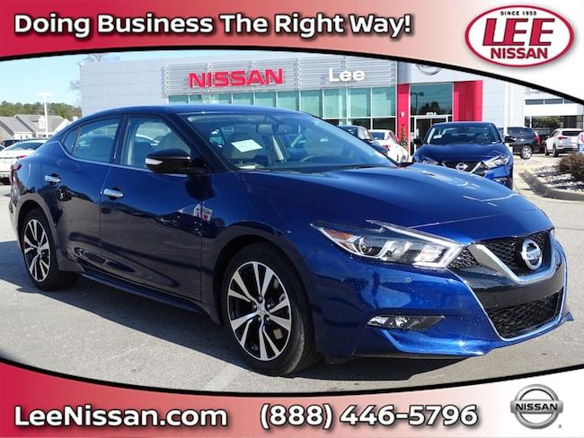New 2018 Nissan Maxima SV SV 3.5L in Wilson, NC