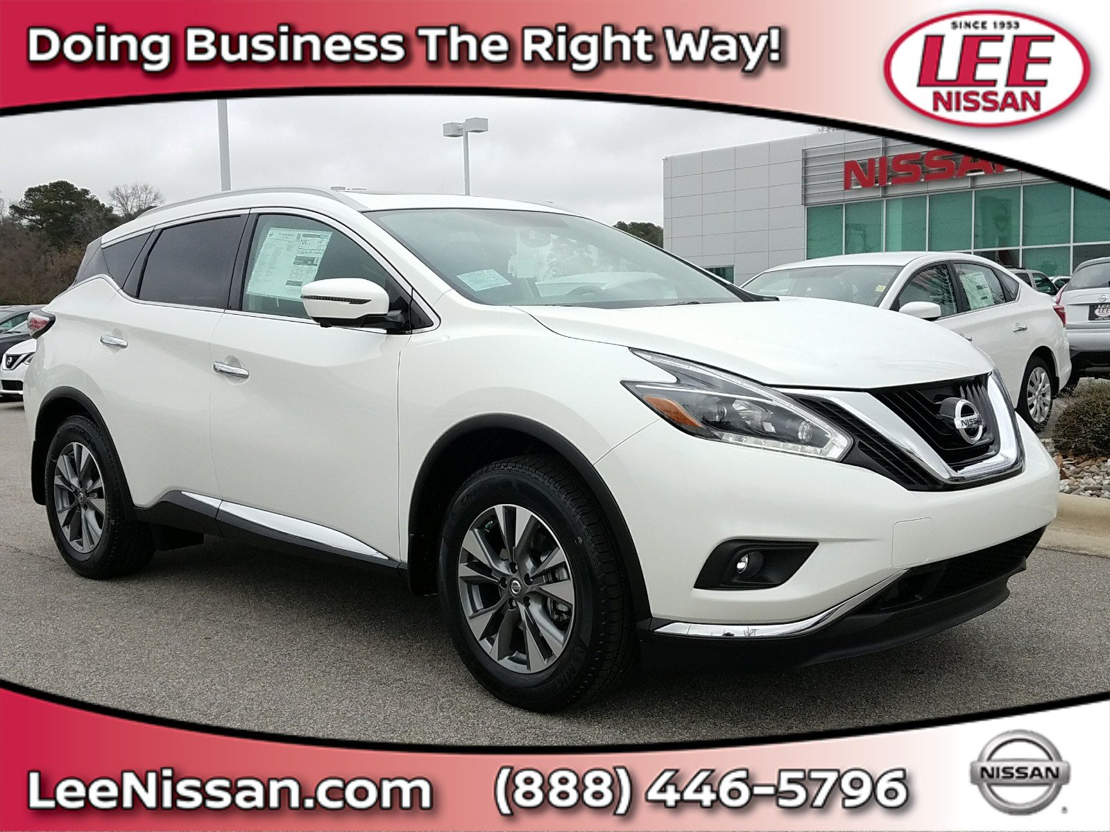 2018 Nissan Murano SL FWD SL for sale in Wilson, NC.