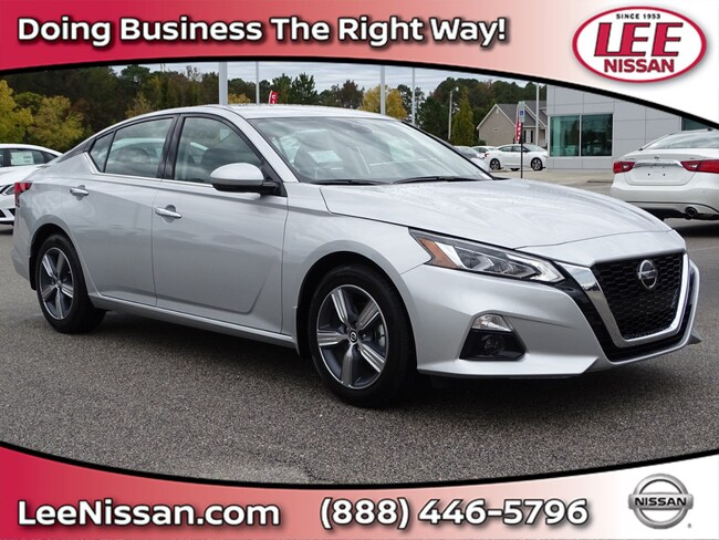 New 2019 Nissan Altima 2.5 SV Sedan in Wilson, NC