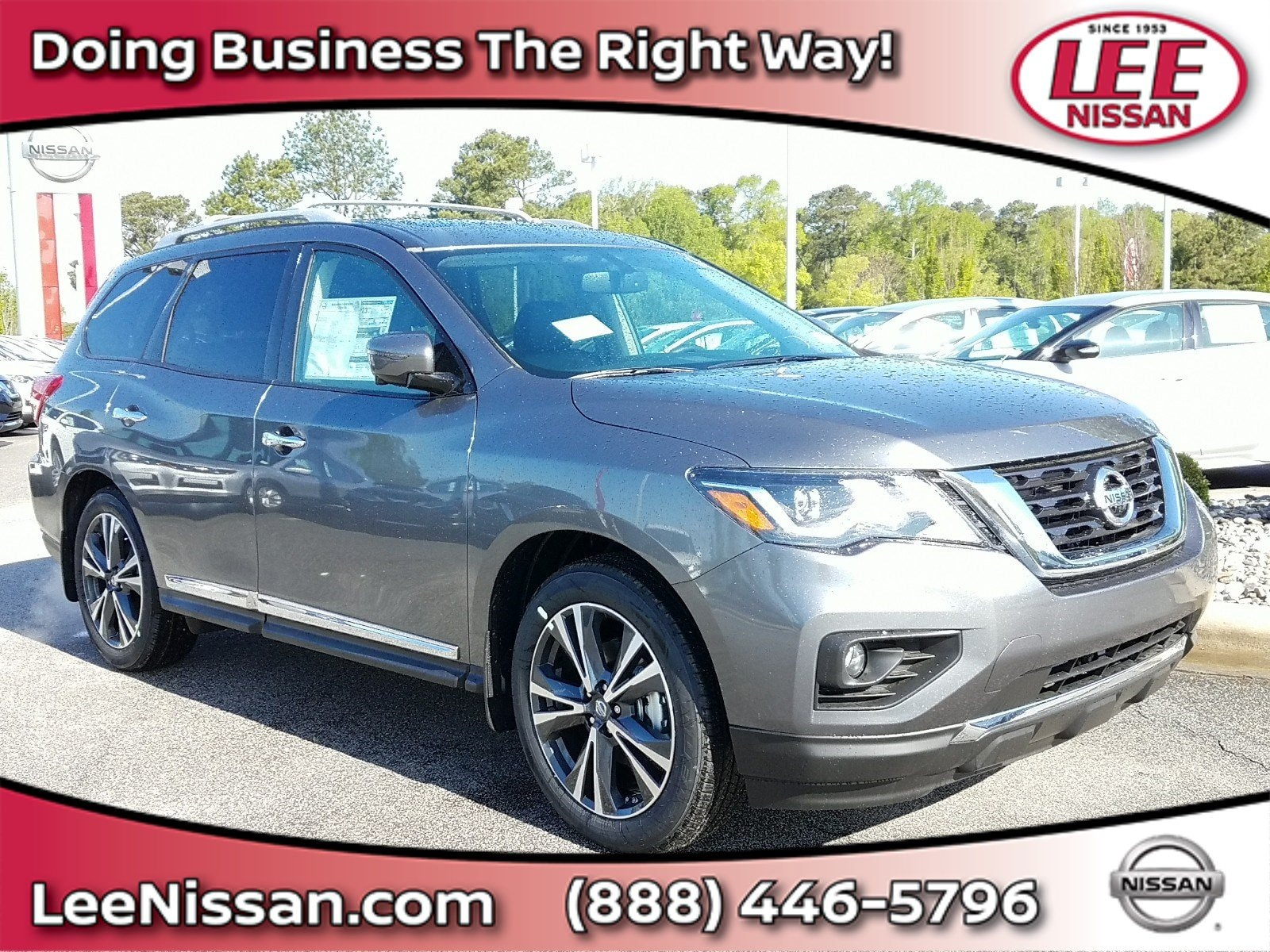 2018 Nissan Pathfinder Platinum FWD Platinum for sale in Wilson, NC.
