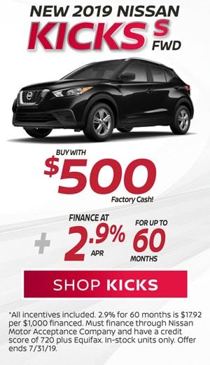 New 2019 Nissan Kicks