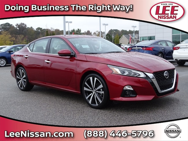 New 2019 Nissan Altima 2.5 Platinum Sedan in Wilson, NC