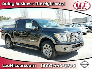 New 2018 Nissan Titan Platinum Reserve 4x4 Crew Cab Platinum Reserve 11490 for sale in Wilson, NC