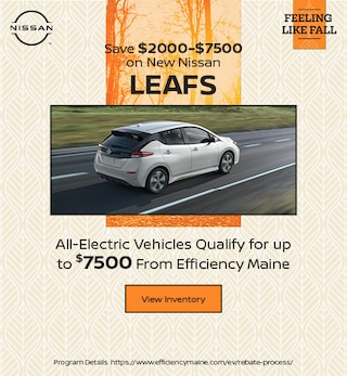 Save $2000-$7500 on New Nissan LEAFs