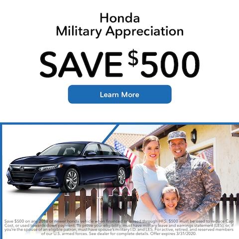 Honda Military Appreciation