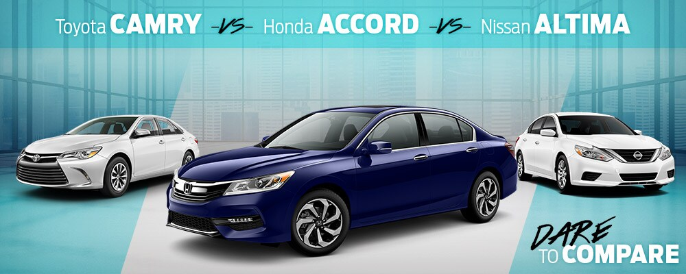 2017 Honda Accord Dare to Compare