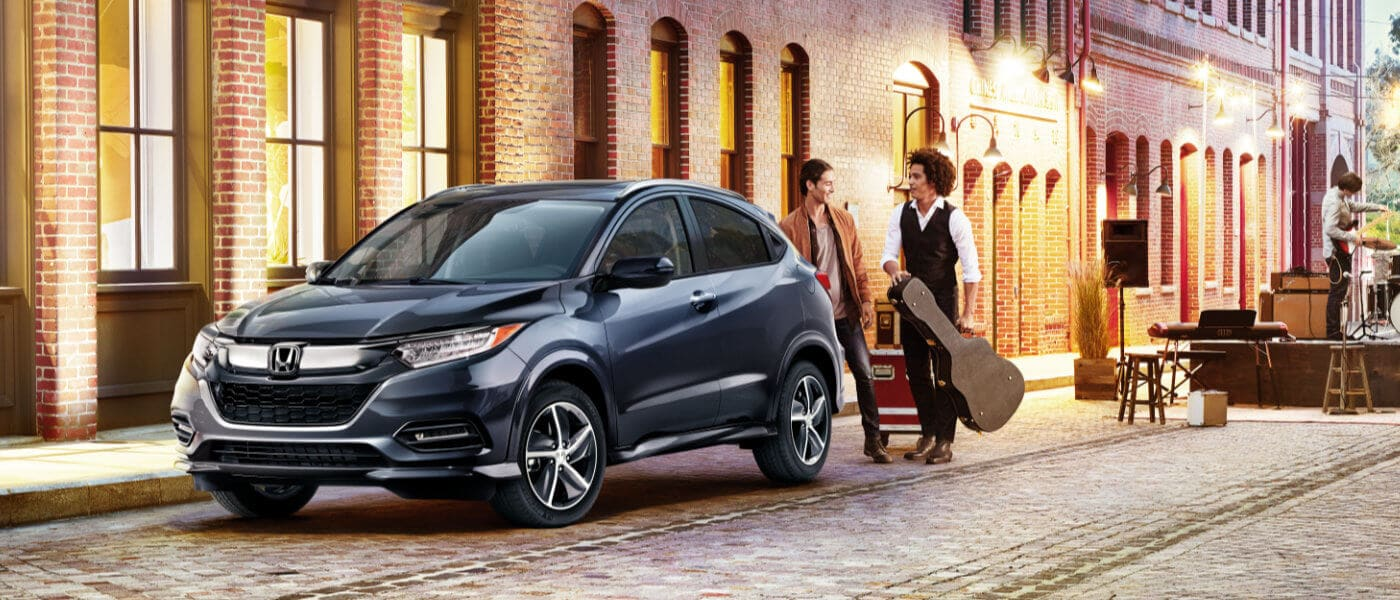 New blue 2019 Honda HR-V