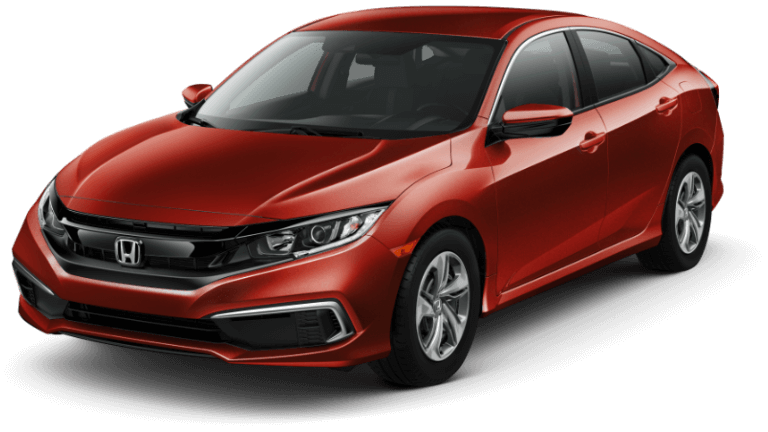 2019 Honda Civic LX- Red