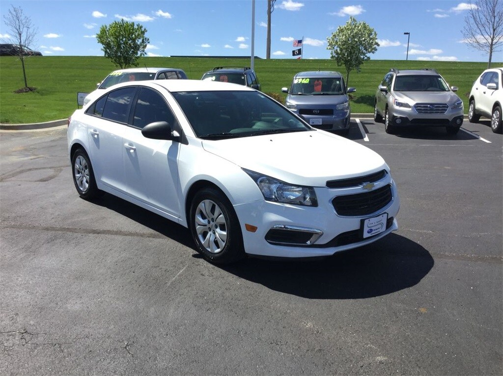2016 Chevrolet Cruze Limited LS Sedan