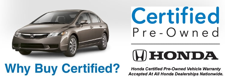 Why Buy A Certified Honda