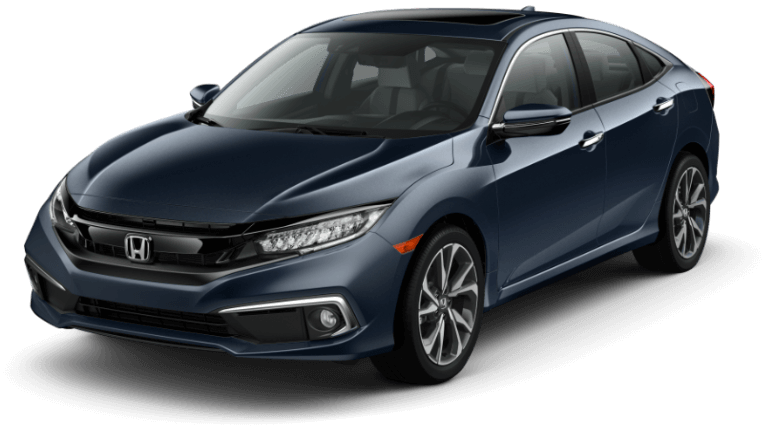 2019 Honda Civic Touring - Blue
