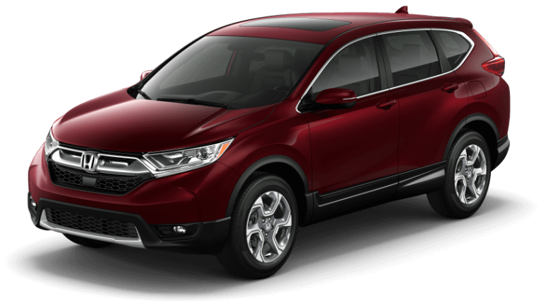 2019 Honda CR-V EX Red