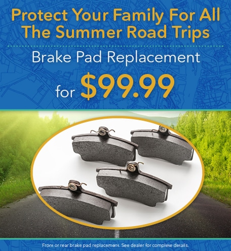 Brake Pad Replacement for $99.99