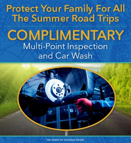 Complimentary Multi-Point Inspection and Car Wash