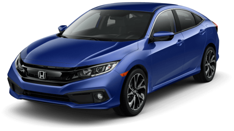 2019 Honda Civic Sport - Blue