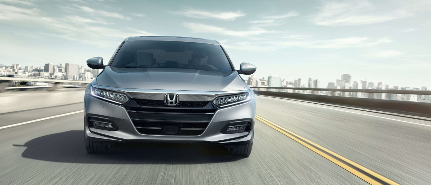 Silver 2020 Honda Accord on highway