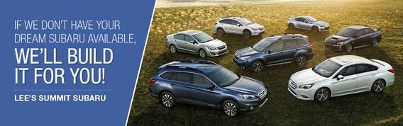 Build Your Own Subaru >> Customize Build Your Own New Subaru Lees Summit Subaru