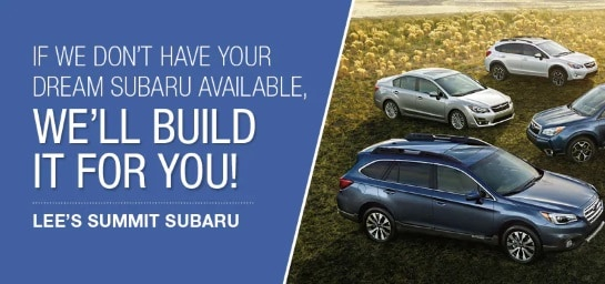 Customize your Subaru