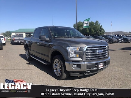 2017 Ford F-150 XLT 4WD Supercrew 5.5 BO Truck SuperCrew Cab
