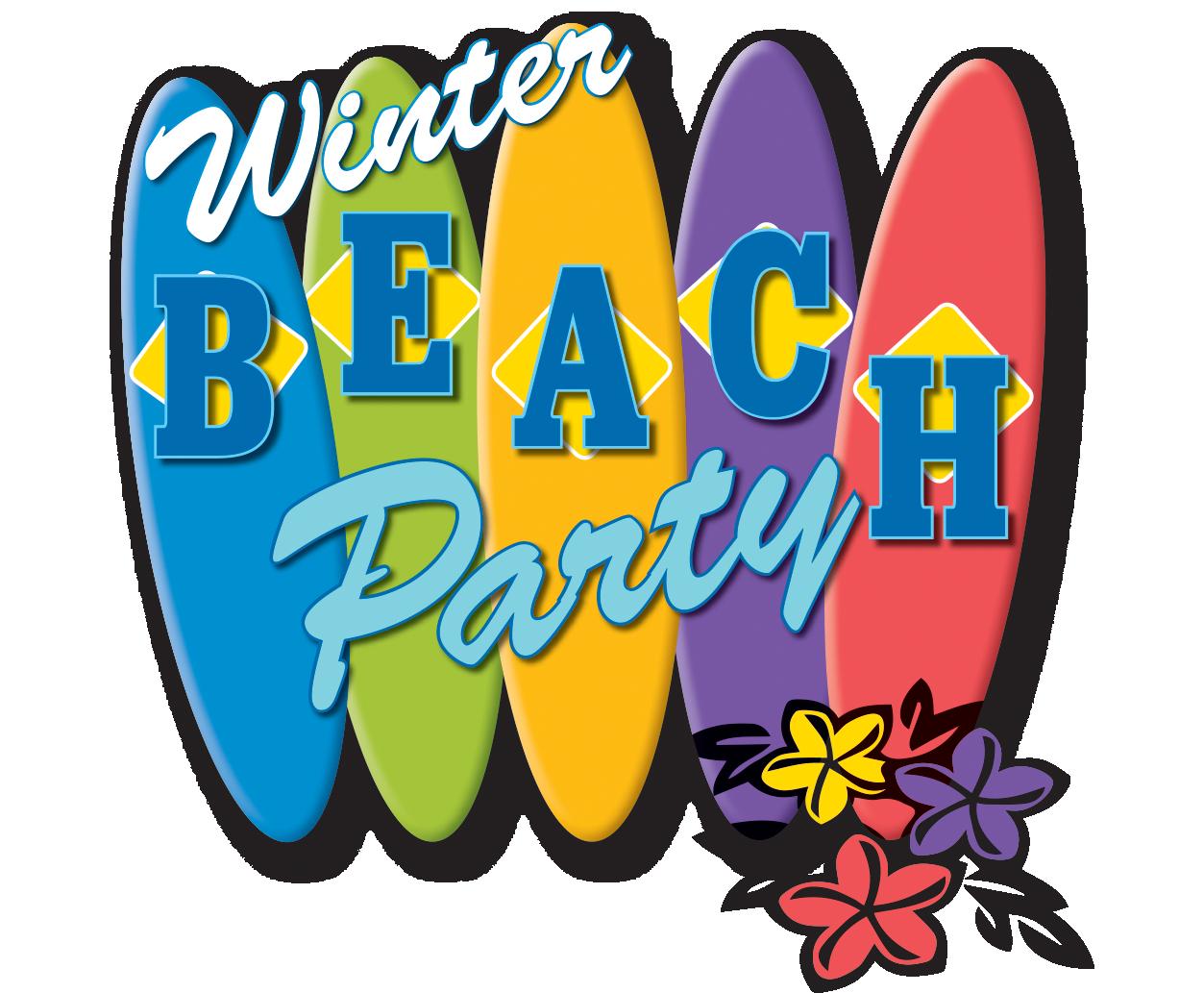 Winter Beach Party In Garden City, KS