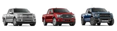 2020 Ford F-150 Trims