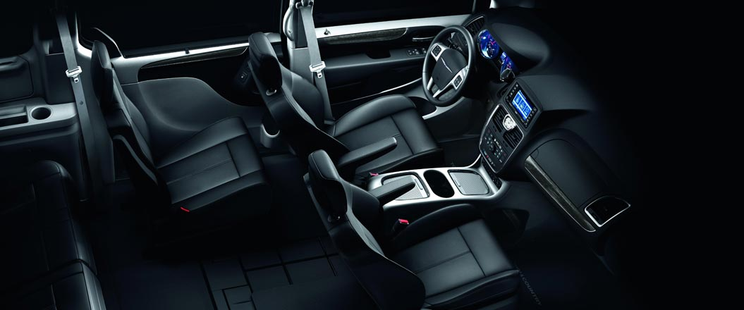 2015 Chrysler Town and Country Interior Seating