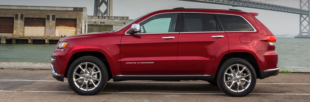 2015 Jeep Grand Cherokee Exterior Side View