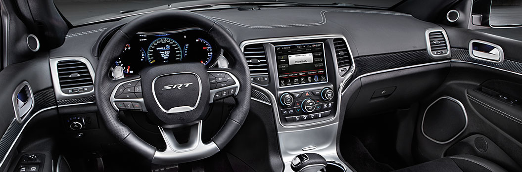 2015 Jeep Grand Cherokee Interior Dashboard
