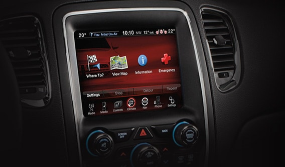 Dodge Touchscreen