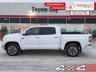 2019 Toyota Tundra 4x4 Crewmax Platinum 5.7L - $359.70 B/W Truck CrewMax [, CAJAD, BW, FRGHT, ACTAX] V-8 cyl