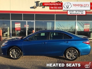 2017 Toyota Camry SE - Heated Seats -  Bluetooth - $144.06 B/W Sedan [] 178HP 4 Cylinder Engine
