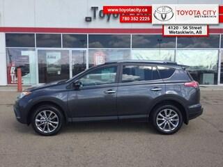 2018 Toyota RAV4 AWD Limited - Navigation -  Sunroof - $230.24 B/W SUV I-4 cyl
