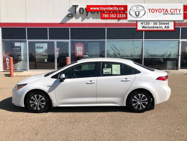 2020 Toyota Corolla Hybrid Hybrid Premium - Premium Package Sedan [, CAJAD, BD, FRGHT, ACTAX] I-4 cyl