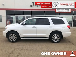2017 Toyota Sequoia Platinum - One Owner - Trade-in - $447.70 B/W Regular Passenger 381HP 8 Cylinder Engine