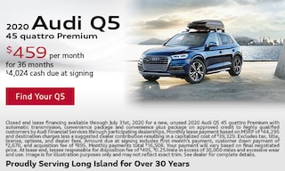 July Audi Q5 Lease Offer