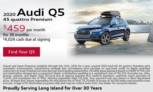 July Audi Q5 Lease Offer