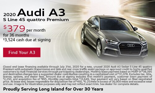July Audi A3 Lease Offer