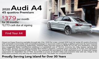 July Audi A4 Lease Offer
