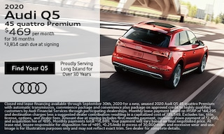 September Audi Q5 Lease Offer
